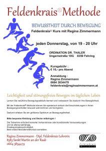 Feldenkrais® Kurs am Donnerstag in Fehring @ SEMINARRAUM ORDINATION DR. THALER | Fehring | Steiermark | Österreich