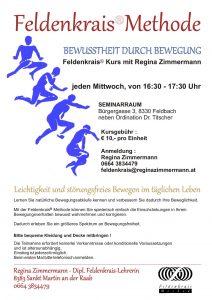 Feldenkrais® Kurs am Mittwoch in Feldbach @ SEMINARRAUM Bürgergasse | Feldbach | Steiermark | Österreich