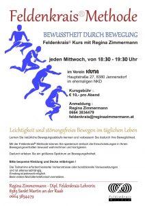 Feldenkrais® Kurs am Mittwoch in Jennersdorf @ Verein IDUNA, Vielfalt bereichert | Jennersdorf | Burgenland | Österreich